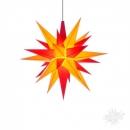 gelb-rote Sterne
