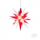 rot-weiße Sterne